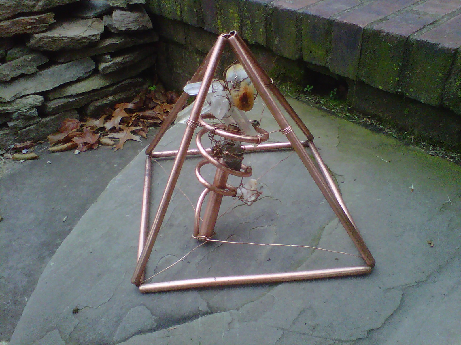 copper pyramid | meaningofstrife